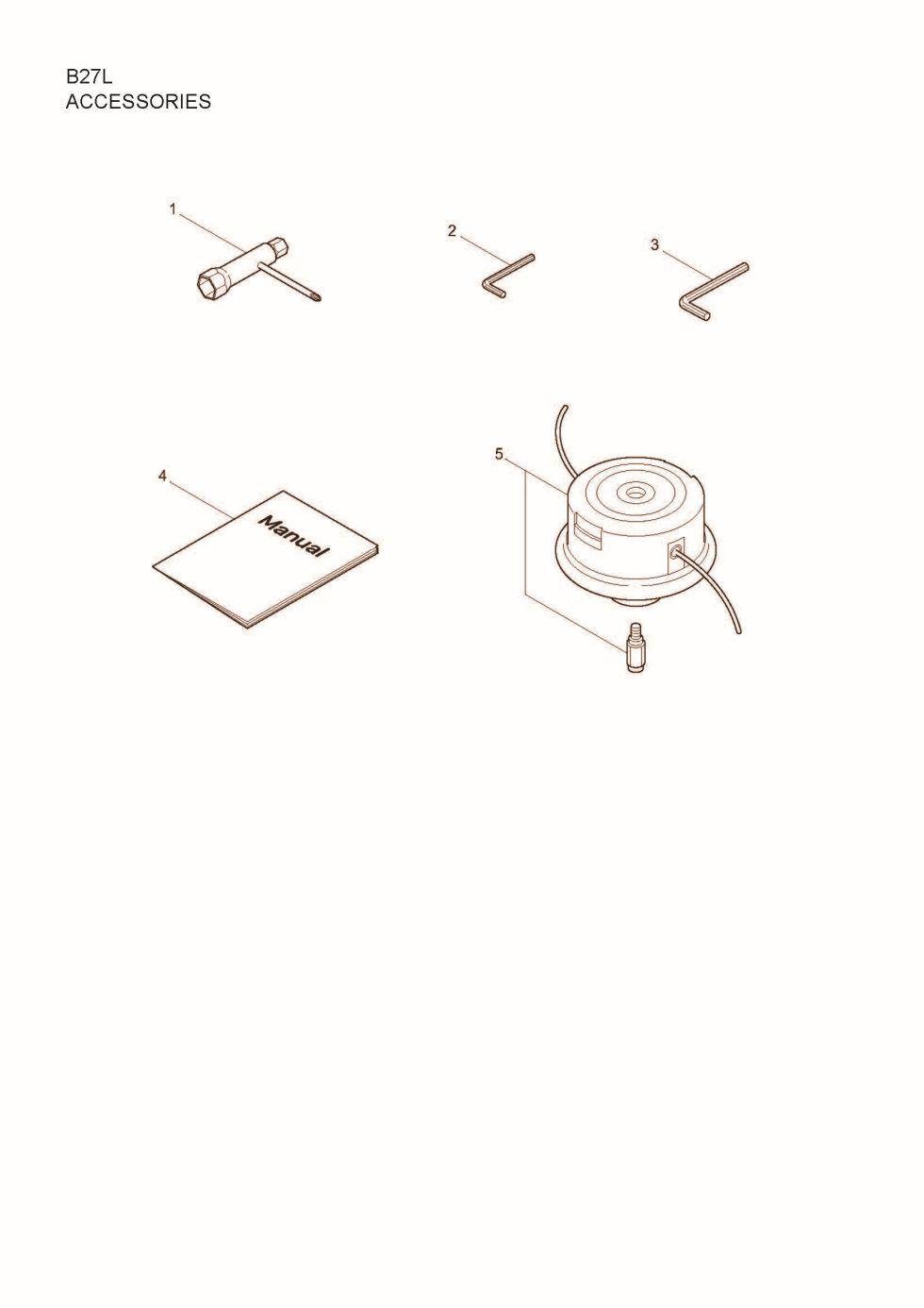 Maruyama Parts Lookup - B27L Parts Diagrams B27L Accessories